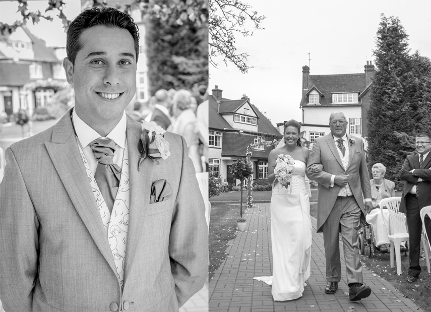 Manor House Hotel Guildford Wedding Photographer