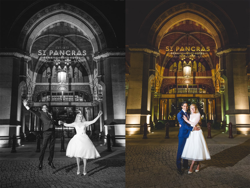 Wedding Photography for St. Pancras Renaissance Hotel