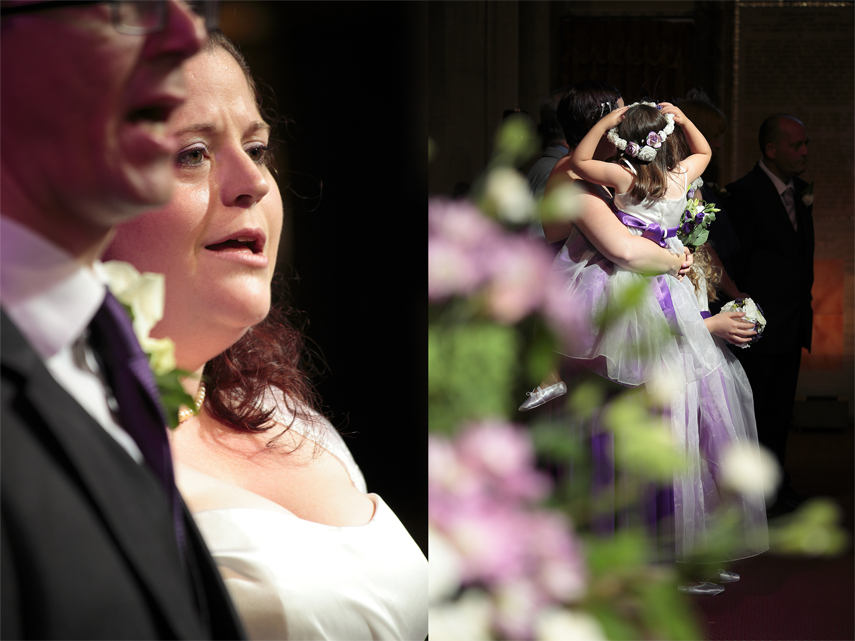 London wedding photographer experienced in church weddings
