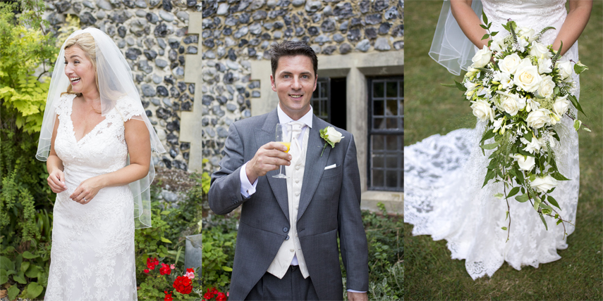 wedding photography for Salmestone Grange Margate Kent