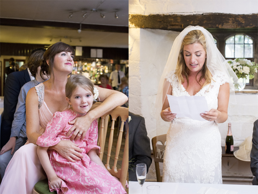 natural wedding photography Salmestone Grange Kent