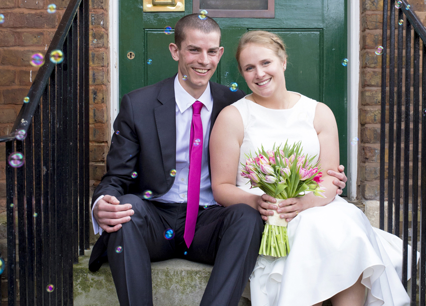 Bakewell registry office wedding