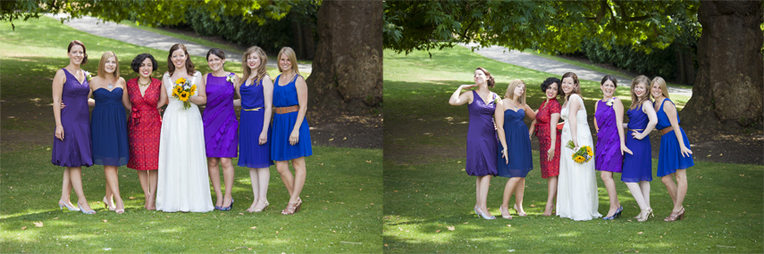 natural wedding photography at Richmond registry office