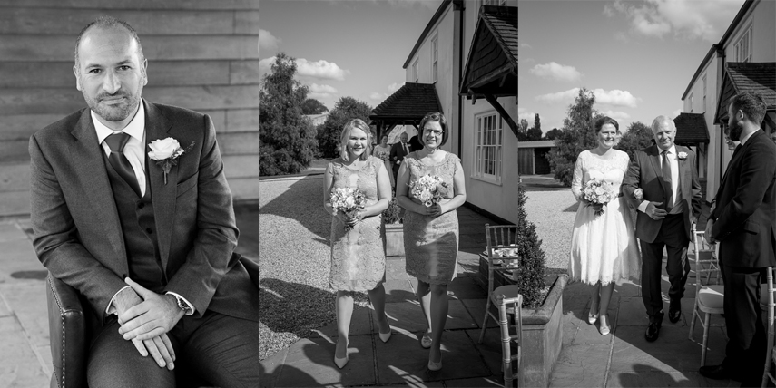 wedding photographer Groomes Country House Hampshire