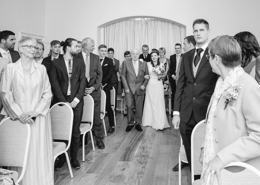 wedding photographer for Russell Suite at Pembroke Lodge