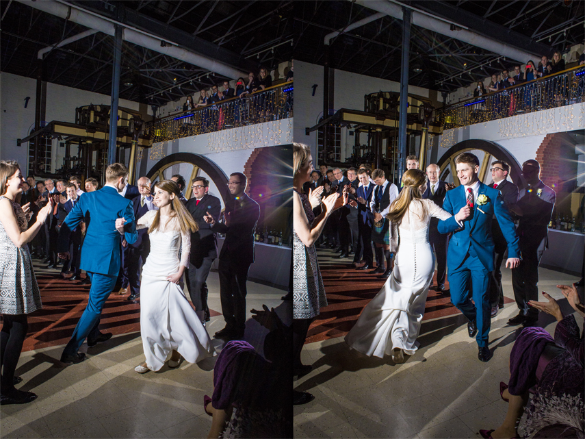 wedding photographer London Museum of Water & Steam